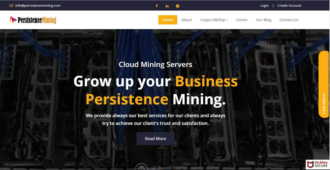 Persistence Mining - Crypto Currency Mining